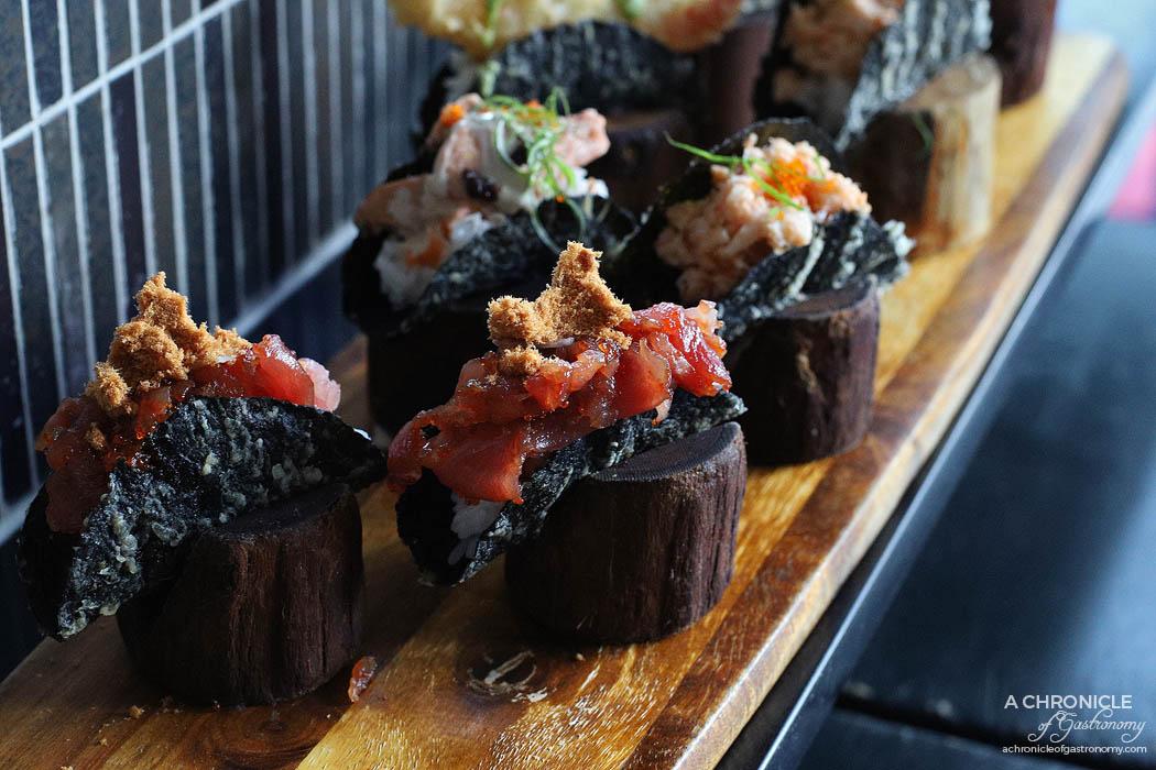 Machi - Machi Taco - Tuna and pork floss