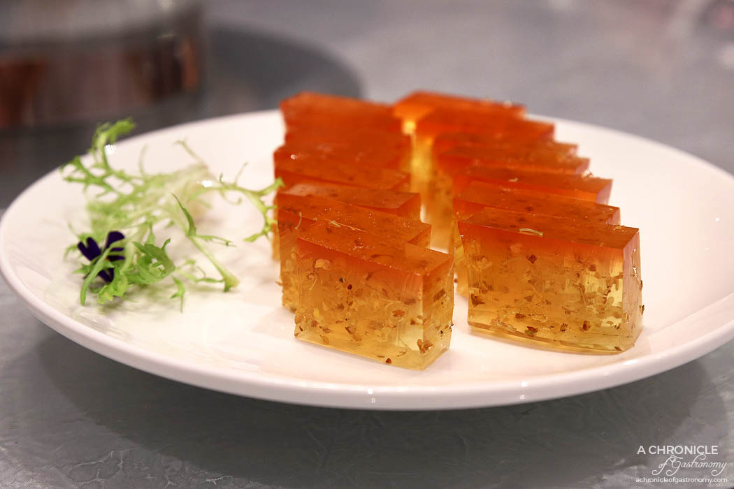 Sun Kitchen - Osmanthus jelly
