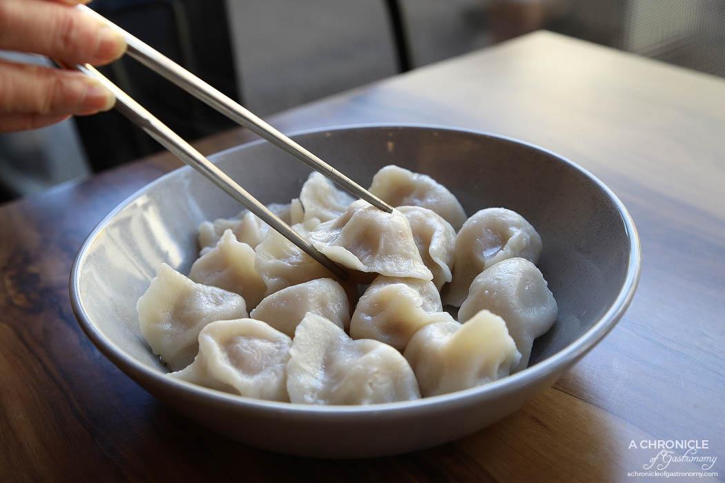 MC Dumpling - Boiled Pork and Chinese Cabbage Dumplings (15 for $9.50)