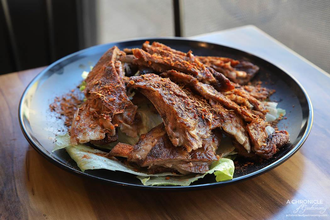 MC Dumpling - Mongolian lamb ribs special