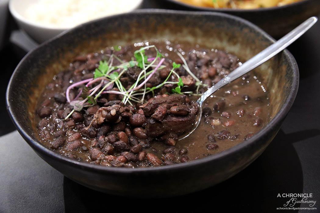 Morrison's - Feijoada - Brazilian national stew dish w beans, chorizo, pork ribs and pork shoulder ($21)