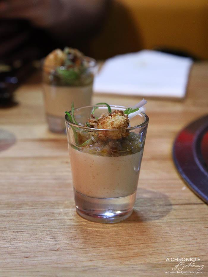 Co Hanh - Caulifflower Ragu - Silky spicy cauliflower and eggplant ragu