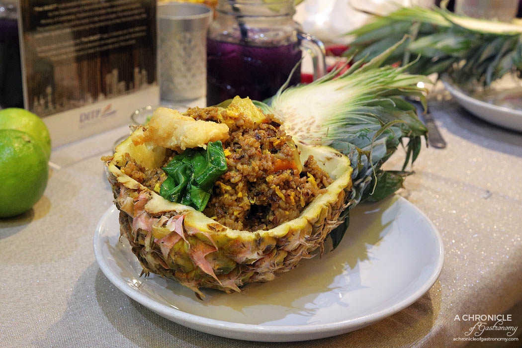 Jing Jai Thai Pineapple fried rice